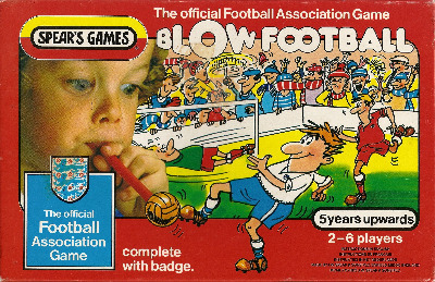 Blow Football Game - Spear's Games - 1983
