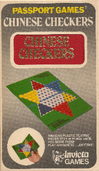 Passport Games : Chinese Checkers Travel Game - Invicta Games - 1973
