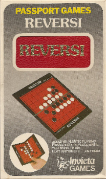 Passport Games : Reversi Travel Game - Invicta Games - 1973