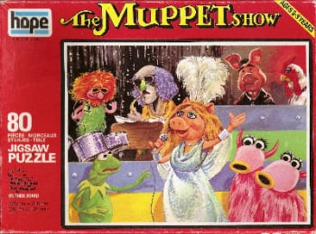 The Muppet Show Jigsaw Puzzle - 80 Pieces - 1976