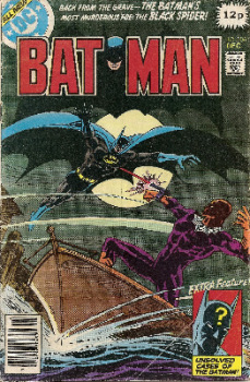 Batman - Issue 306 - December 1978 - UK Price On Cover - DC Comics