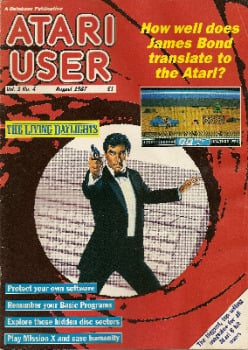 Atari User - Vol 3 No 4 - August 1987