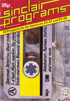 Sinclair Programs : 40 Programs For The Spectrum, ZX81 And ZX80 - November / December 1982