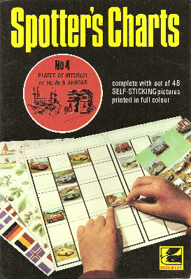 Spotter's Charts : No 4 - Places Of Interest At Home And Abroad