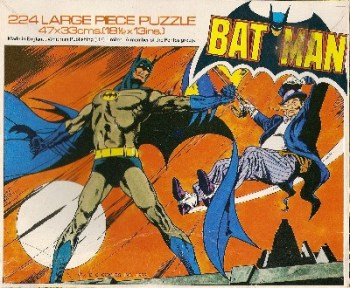 Batman - Jigsaw Puzzle - 224 Pieces - 1977