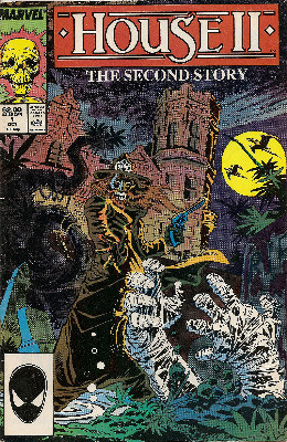 House II : The Second Story Comic Book Adaptation - October 1987 - Marvel C