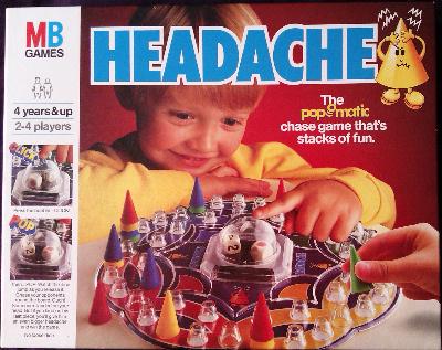 Headache - Pop-O-Matic - MB Games - 1986