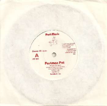"Postman Pat Theme - 7"" Vinyl Single - RARE - 1982"