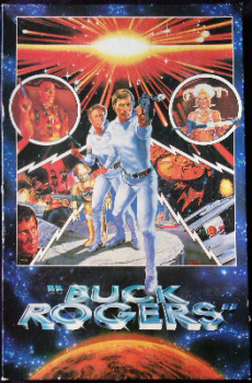Buck Rogers Jigsaw Puzzle - 200 Pieces - 1981