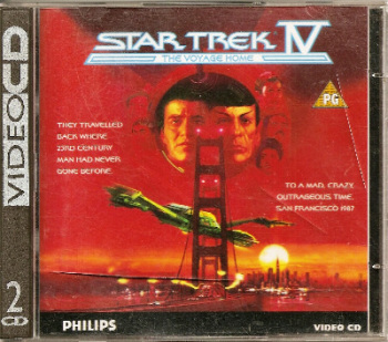 Star Trek IV : The Voyage Home - VCD
