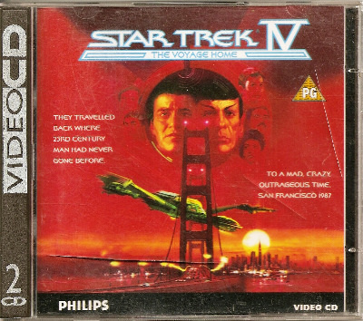 Star Trek IV : The Voyage Home - CDi - VCD