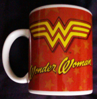 Wonder Woman - Logo Cup / Mug - DC Comics - NEW