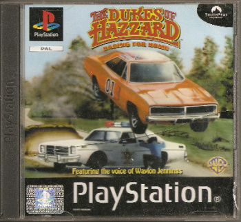 The Dukes Of Hazzard : Racing For Home - PS1 - Playstation 1 - Ubisoft