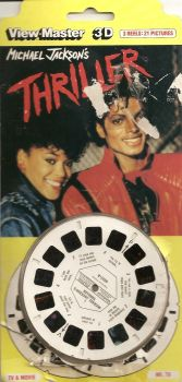 Michael Jackson's Thriller Viewmaster Reels