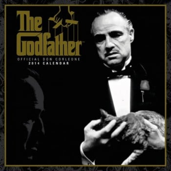 The Godfather Official 2014 Calendar - NEW