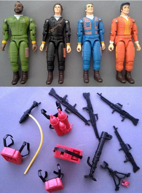 A-Team Figure Set