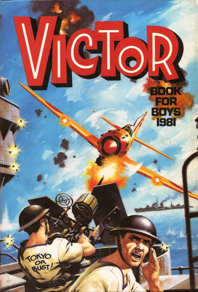 The Victor Book For Boys Annual - 1981