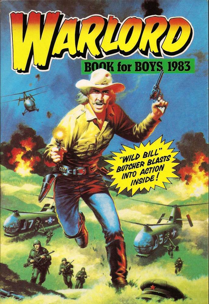 Warlord Book For Boys Annual - 1983