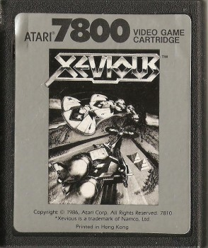 Xevious - Atari 7800 - Cartridge Only - 1987