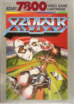 Xevious - Atari 7800 - 1987 - NEW