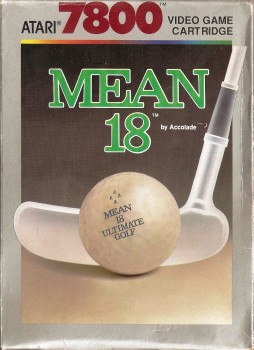 Mean 18 : Ultimate Golf - Atari 7800 - 1989 - RARE