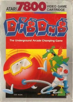 Dig Dug - Atari 7800 - 1987