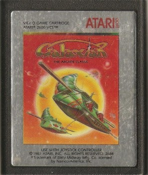 Galaxian : The Arcade Classic - Atari 2600 - Cartridge Only - 1983