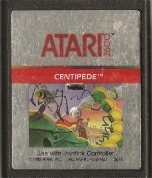 Centipede - Atari 2600 - Cartridge Only - 1982