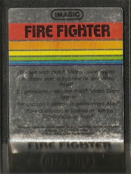 Fire Fighter - Atari 2600 - Imagic - Cartridge Only - 1988