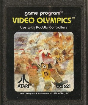 Video Olympics - Atari 2600 - Cartridge Only - 1978