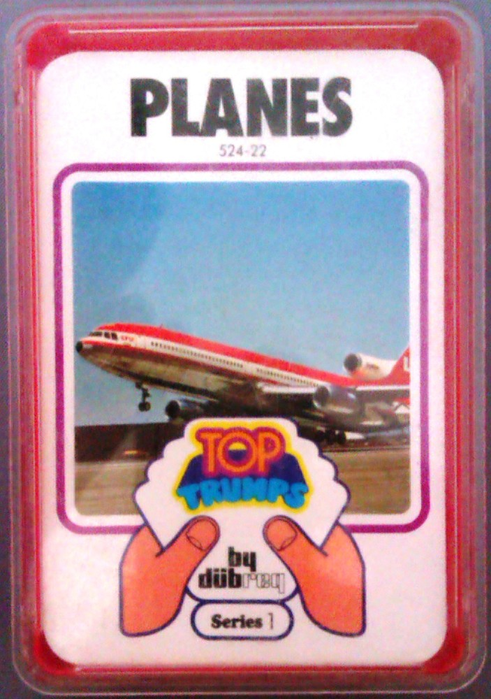 Top Trumps - Planes - [red case]