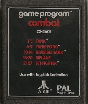 Combat - Atari 2600 - Cartridge Only - 1977