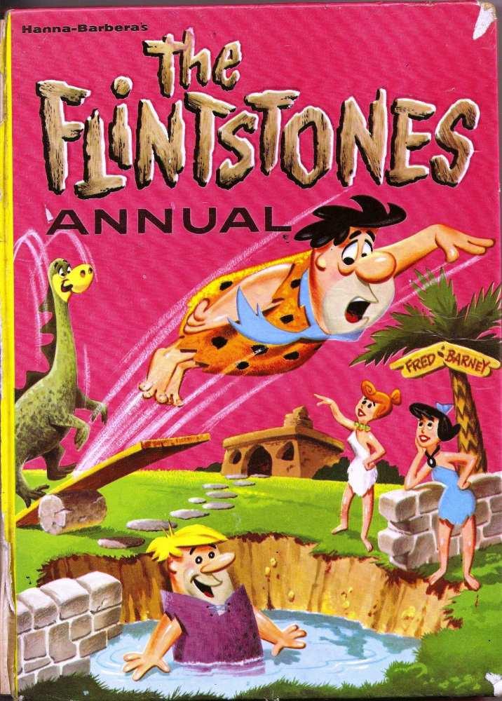 Hanna-Barbera's The Flintstones Annual  - 1962 - RARE