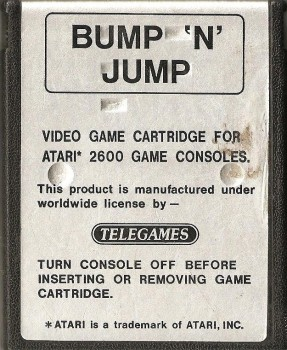 Bump 'n' Jump - Atari 2600 - Telegames - Cartridge Only - 1983
