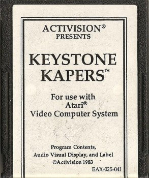 Keystone Kapers - Atari 2600 - Activision - Cartridge Only - 1983