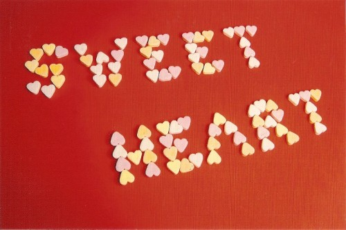 Heart-Shaped Sweets Postcard [3] - NEW