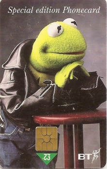 The Muppets - BT Special Edition Phonecard - Kermit The Frog