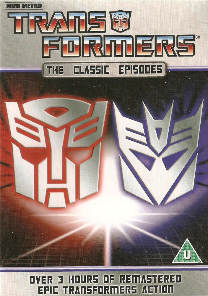 Transformers : The Classic Episodes (10 Episodes) - DVD