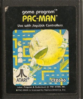 Pac Man - Atari 2600 - Cartridge Only - 1982