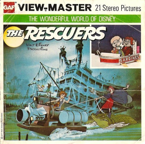 The Rescuers Viewmaster Reels