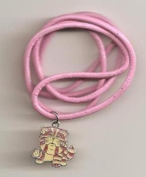 Bagpuss Pendant On Pink Cord - Sitting - NEW