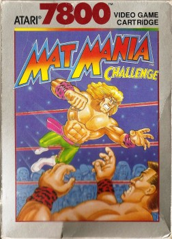 Mat Mania Challenge - Atari 7800 - 1990