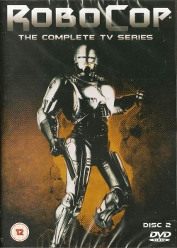 Robocop : The Complete TV Series DVD - Disc 2 - NEW