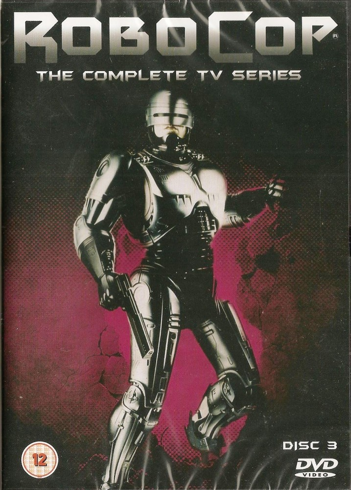 - Robocop : The Complete TV Series DVD - Disc 3 - NEW