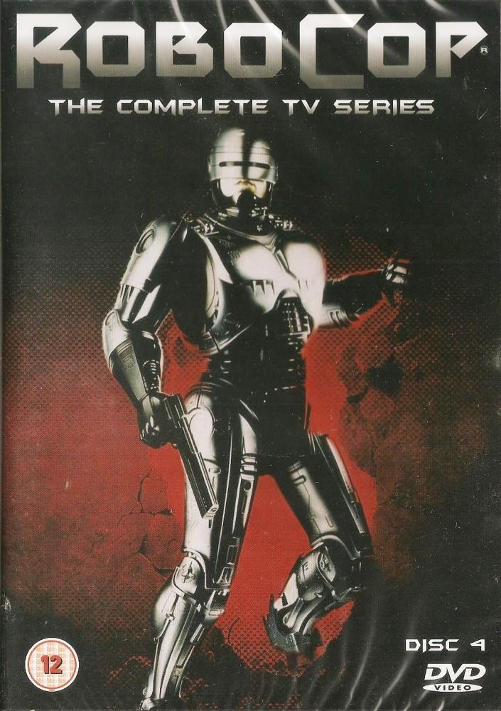 - Robocop : The Complete TV Series DVD - Disc 4 - NEW