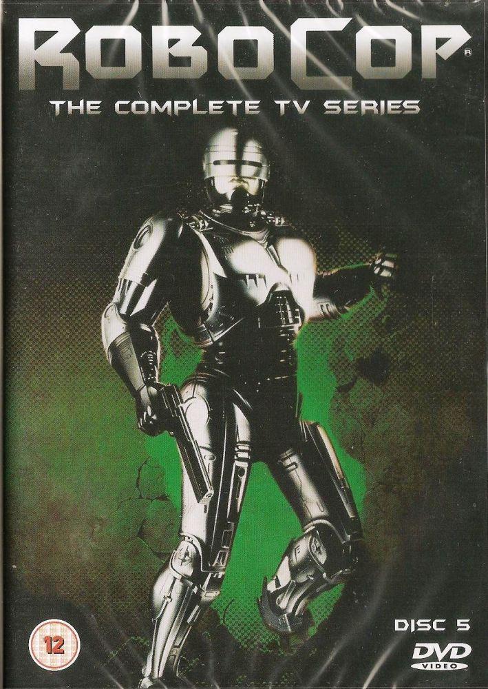 - Robocop : The Complete TV Series DVD - Disc 5 - NEW