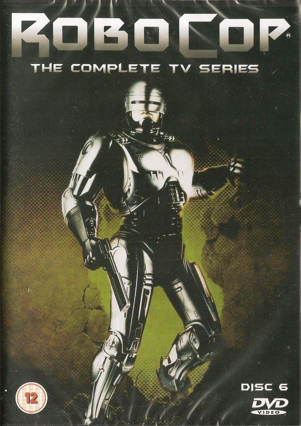- Robocop : The Complete TV Series DVD - Disc 6 - NEW