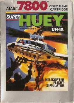 Super Huey UH-IX - Atari 7800 - 1988