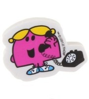 Little Miss Chatterbox Shaped Eraser - NEW
