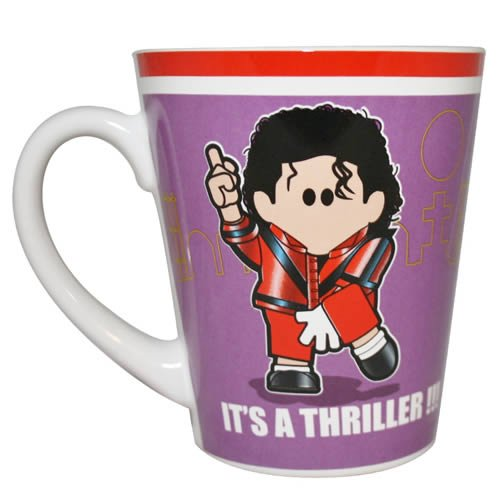 Weenicons Mug / Cup - It's A Thriller!!! (Michael Jackson Style) - NEW